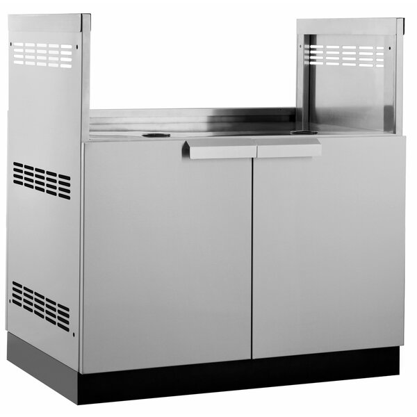 Outdoor Kitchen Bar Center Stainless Steel BBQ by NewAge Products