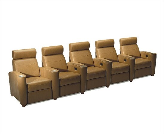 Diplomat Home Theater Lounger (Row Of 5) By Bass