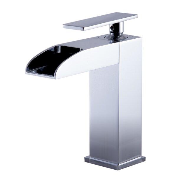 Waterfall Deck Mounted Bathroom Faucet