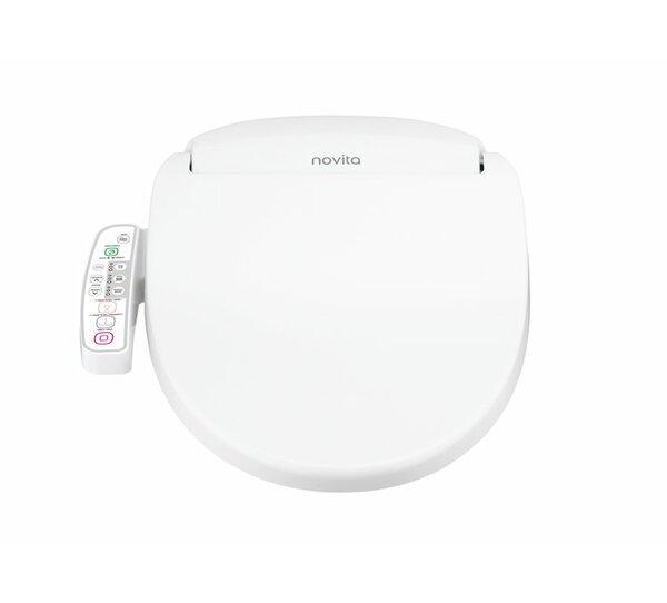 Novita Round-Front Cleaning Toilet Seat