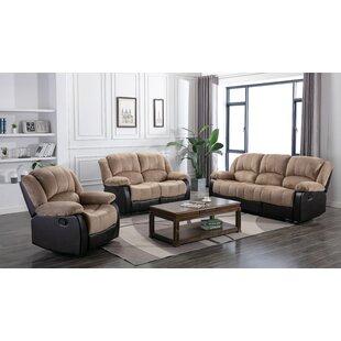 Perrysburg 3 Piece Reclining Living Room Set by Winston Porter