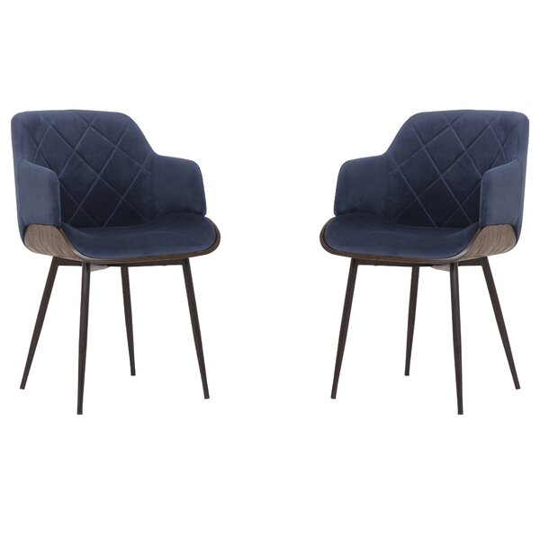 Stecker Upholstered Dining Chair (Set of 2) by Brayden Studio