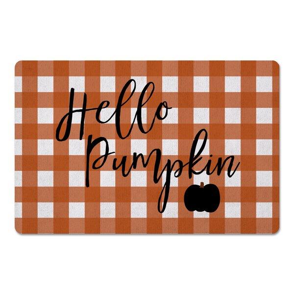 Mirabeau Hello Pumpkin Kitchen Mat