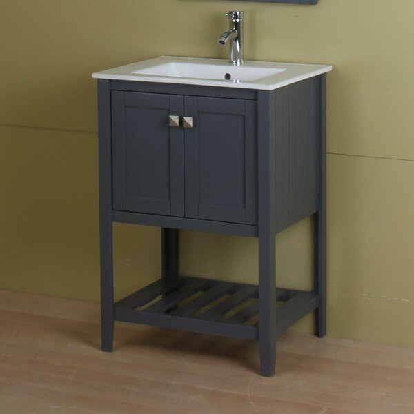 Dutcher 24 Single Bathroom Vanity Set by Rosecliff Heights