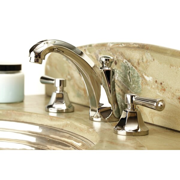 Metropole Lavatory Widespread Bathroom Faucet With Drain Assembly By Newport Brass