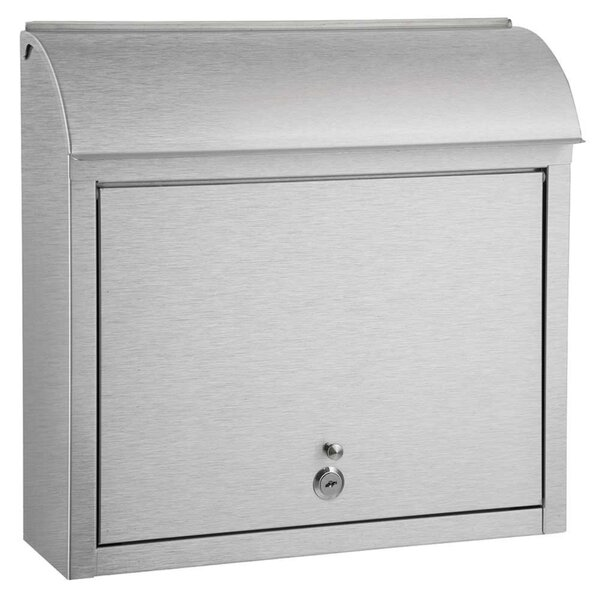 Winfield Locking Wall Mounted Mailbox by Qualarc