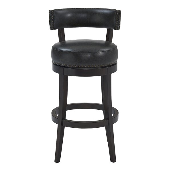 Arvizu 31 Swivel Bar Stool by Foundry Select