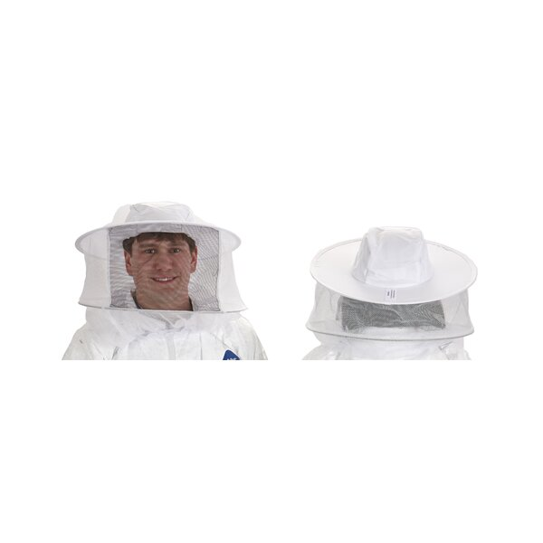 Little Giant Beekeeping Veil with Hat by Miller Mfg