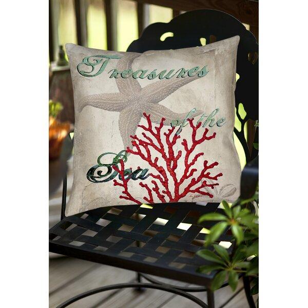 Concetta Indoor/Outdoor Throw Pillow by Highland Dunes