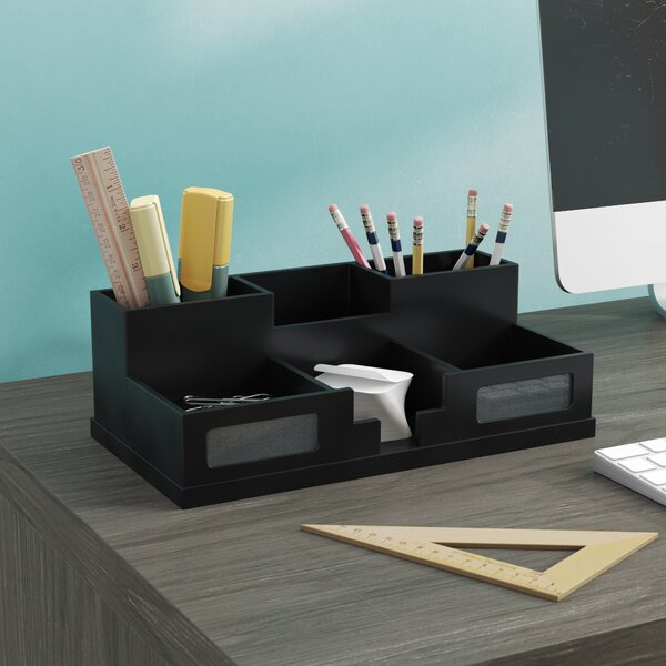 Camile Desk Organizer with Smart Phone Holder by Zipcode Design