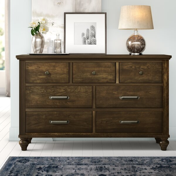 Judith Gap 7 Drawer Dresser by Three Posts