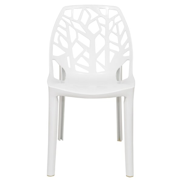 Kimonte Stacking Patio Dining Chair by Ivy Bronx