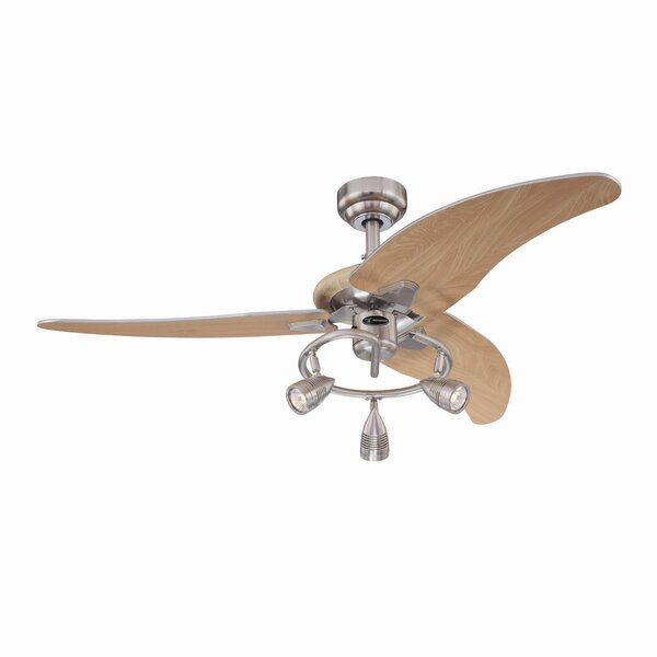 48 Truesdale 3 Blades Ceiling Fan by Wade Logan