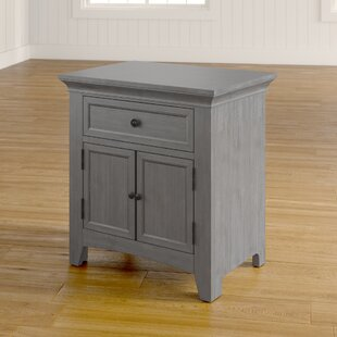 Compare prices Sefton 1 Drawer Nightstand By Three Posts