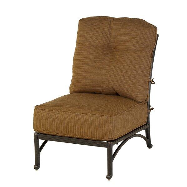 Merlyn Club Middle Patio Chair by Fleur De Lis Living