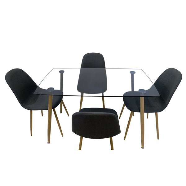 Gillian 5 Piece Dining Set By Ivy Bronx Looking for