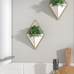 Wall dcor youll love wayfair trigg hanging small wall dcor set of 2 teraionfo