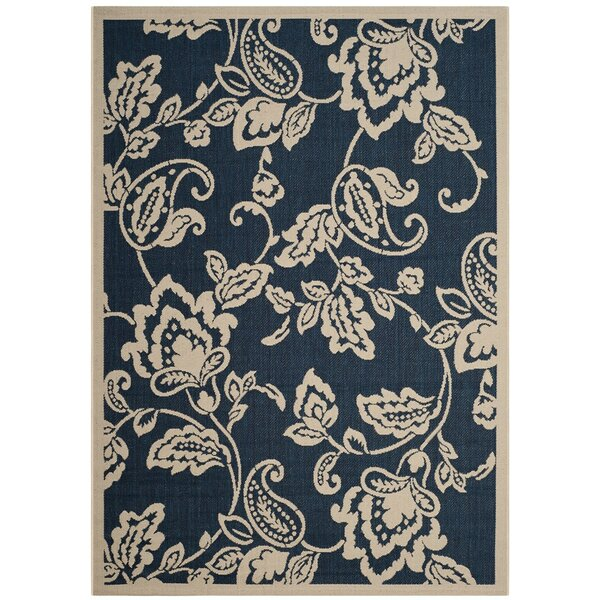 Berrima Navy/Beige Area Rug by Martha Stewart Rugs