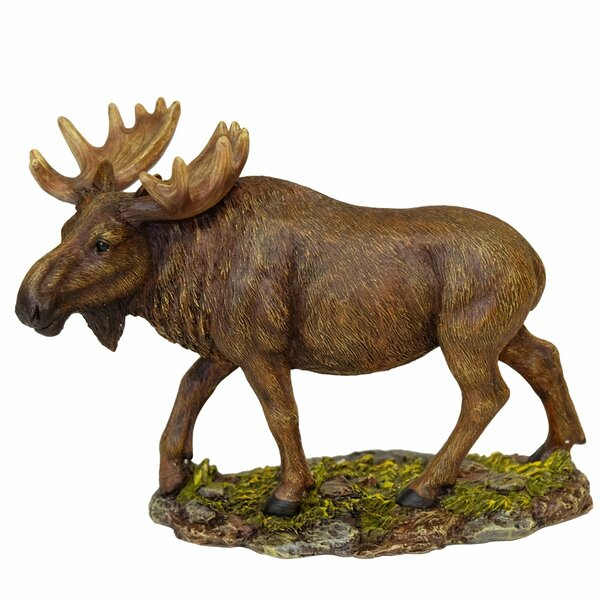 Anderson Moose Figurine by Millwood Pines