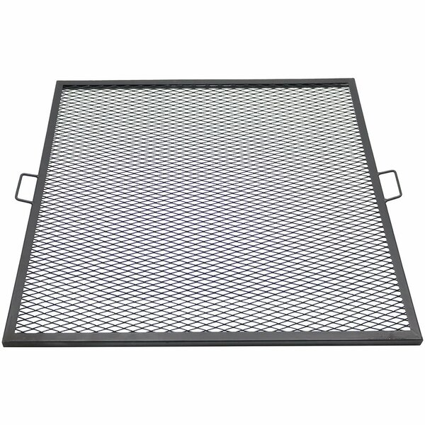Tinsman X-Marks 40 Square Fire Pit Cooking Grate by Freeport Park