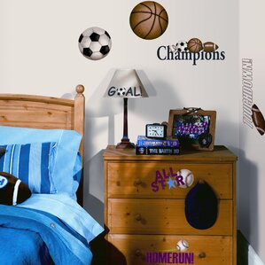 Great Studio Designs 24 Piece Play Ball Wall Decal Awesome Design