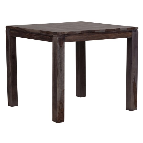 Pereyra Counter Height Solid Wood Dining Table by Loon Peak