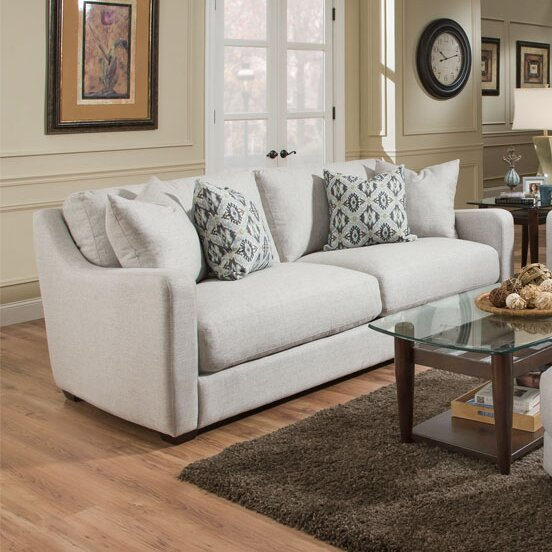 High-quality Charlaine Sofa by Bungalow Rose by Bungalow Rose