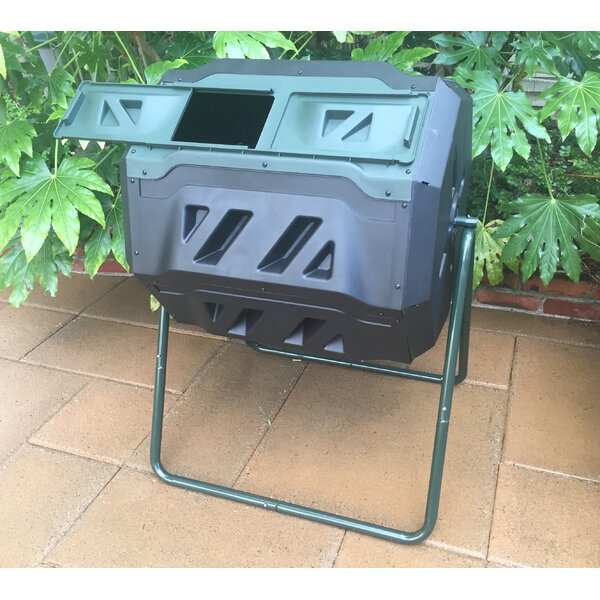 Mr. Spin 43 Gal. Tumbler Composter by Exaco