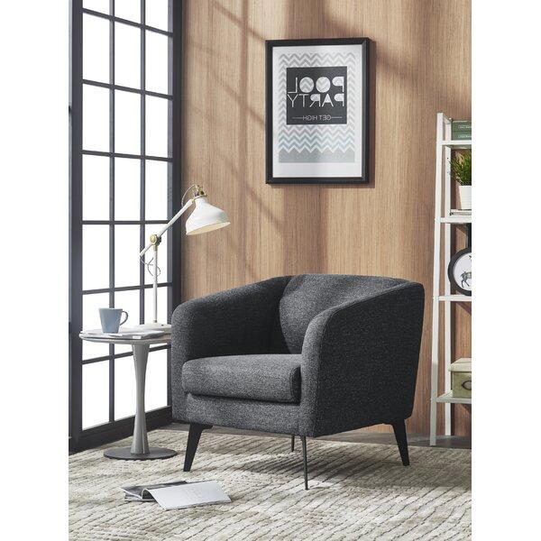 Dang Modern Fabric Armchair by Brayden Studio
