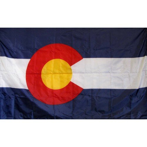 Colorado Glo Traditional Flag by NeoPlex
