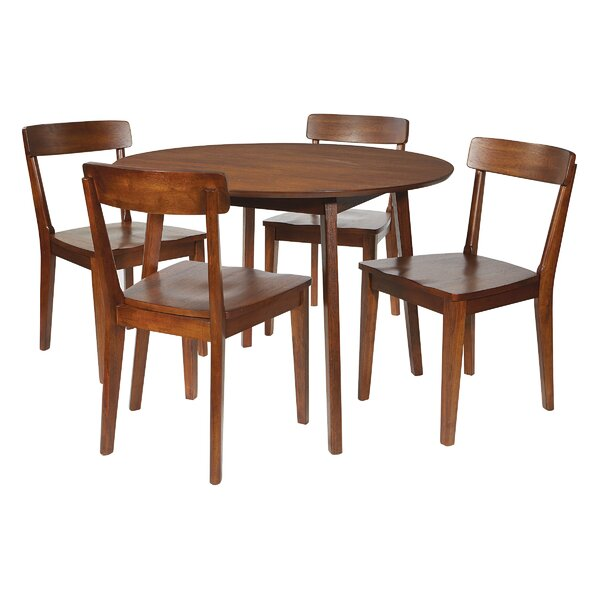 Gabbard 5 Piece Dining Set by Corrigan Studio Corrigan Studio