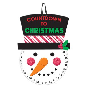 Christmas Countdown Hanging Sign
