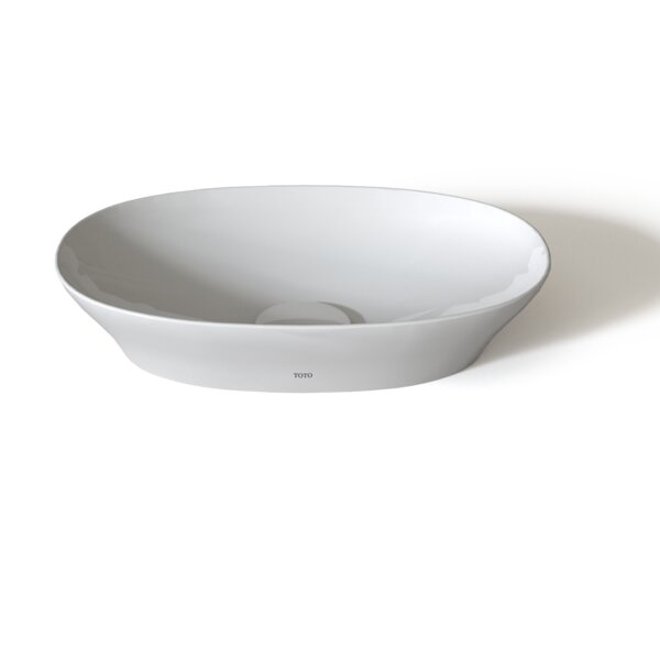 Kiwami® Ceramic Oval Vessel Bathroom Sink