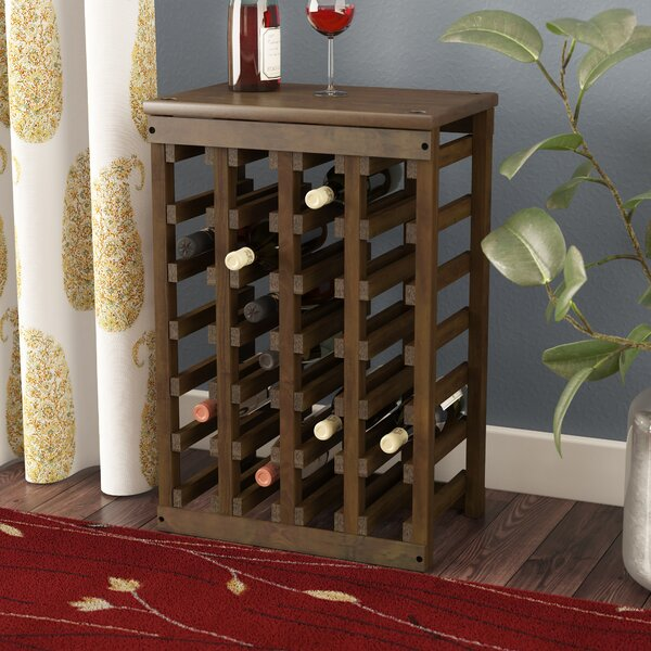 Garris 24 Bottle Floor Wine Bottle Rack by Alcott Hill