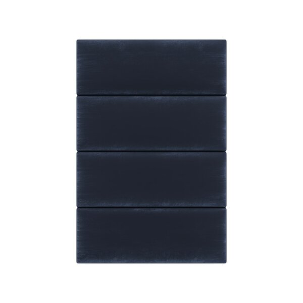 Velvet Wall Paneling in Navy by Vant Panels