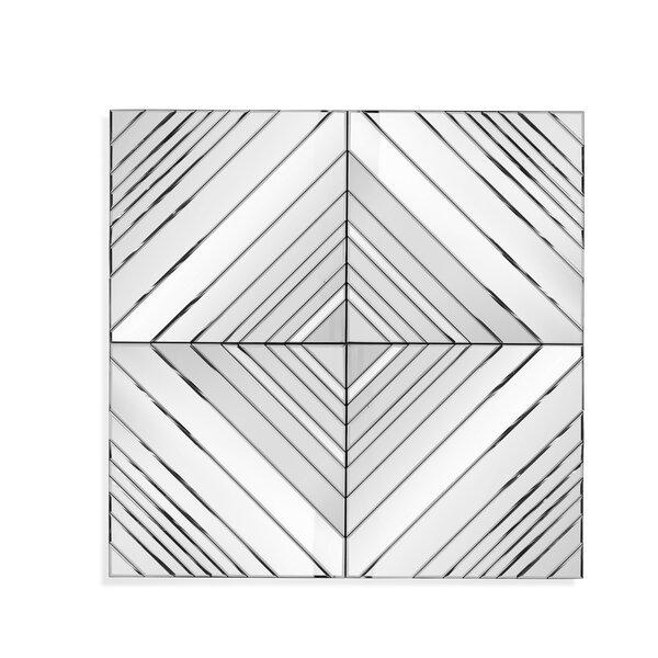 Modern Square Accent Mirror by Brayden Studio