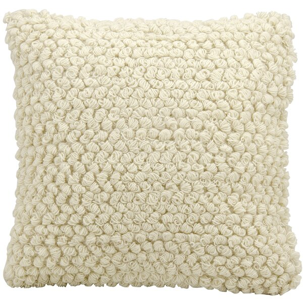 Lemaire Wool Throw Pillow by August Grove| @ $79.00
