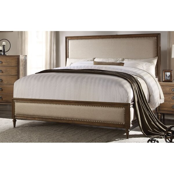 Caudell Upholstered Standard Bed by Gracie Oaks