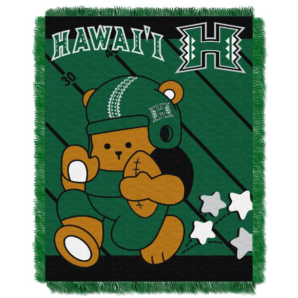 Collegiate Hawaii Baby Blanket by Northwest Co.