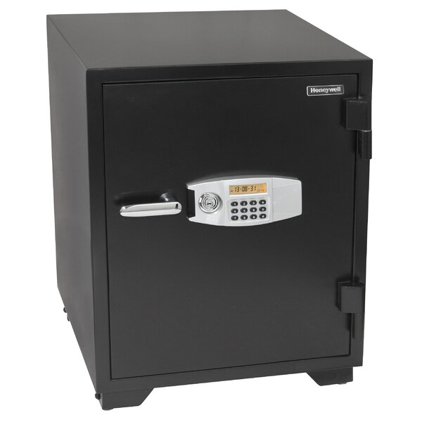 Water Resistant Dual Digital and Key Lock Steel Fire and Security Safe 3.5 CuFt by Honeywell