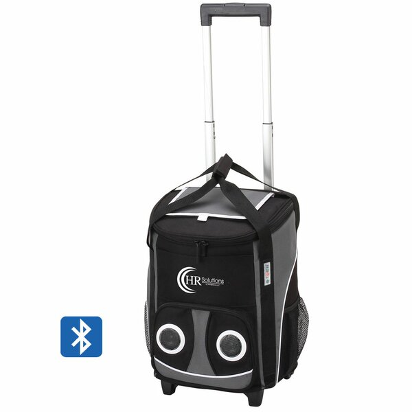 48 Can Bluetooth Rolling Speaker Cooler by Preferred Nation