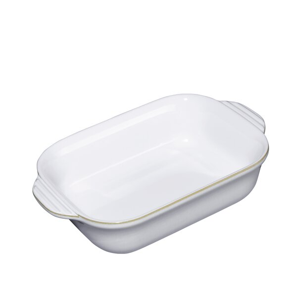 Small Rectangular Natural Canvas Baking Dish by Denby