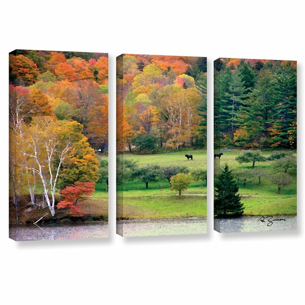 Killington, Vermont by George Zucconi 3 Piece Photographic Print on Wrapped Canvas Set by ArtWall