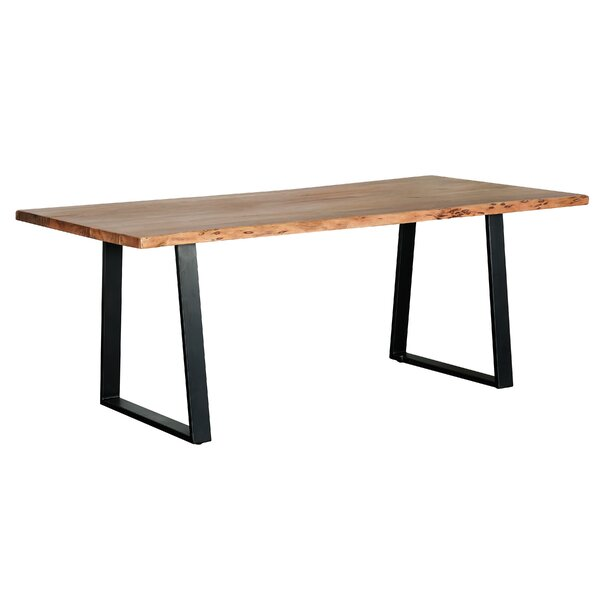 Rachael Solid Wood Dining Table by 17 Stories