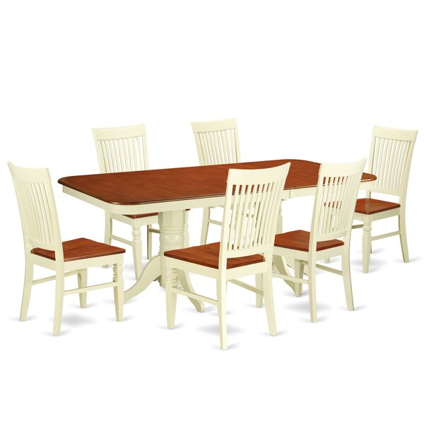 Pillsbury 7 Piece Extendable Dining Set by August Grove August Grove