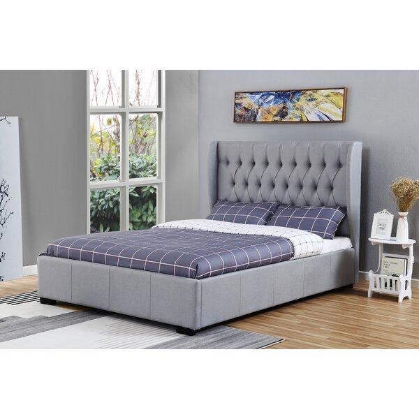 Aahana Upholstered Standard Bed by Red Barrel Studio