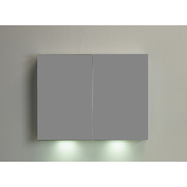 36 x 26.7 Surface Mount Medicine Cabinet with LED Lighting by Eviva