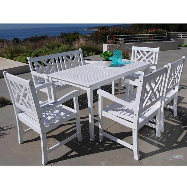 Mahler 6 Piece Dining Set by Darby Home Co