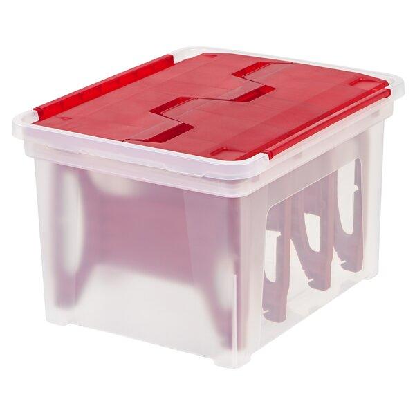 Light Storage Box (Set of 3) by IRIS USA, Inc.
