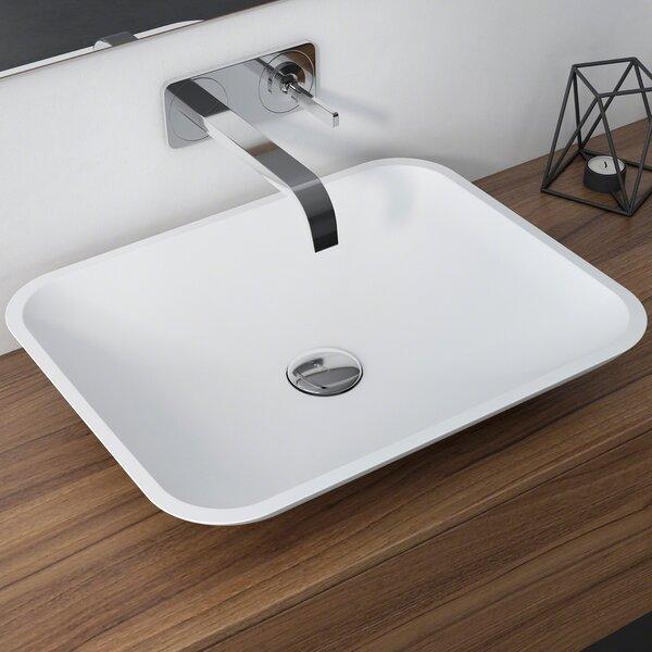 Natura™ Rectangular Vessel Bathroom Sink by Kraus